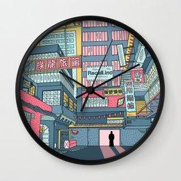 Philip K. Dick's Electric Dream Wall Clock