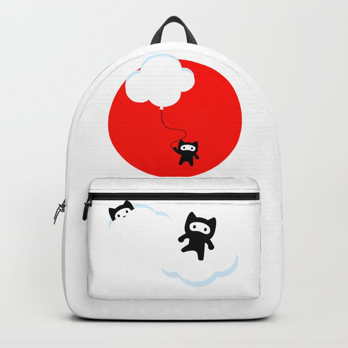 Ninja cats in the sky (Japanese edition) Backpack