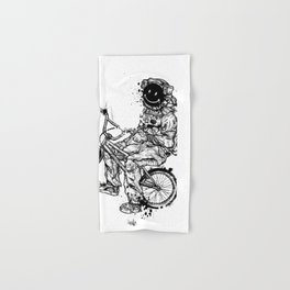 Void in Space (Blk) Hand & Bath Towel
