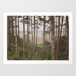 Dreamy Ocean Art Print