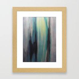 Blue in Green Framed Art Print