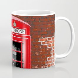 Red Phone Box- London England UK Coffee Mug