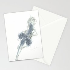 Relax in Grey  Stationery Cards