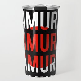 I'M A SAMURAI Travel Mug