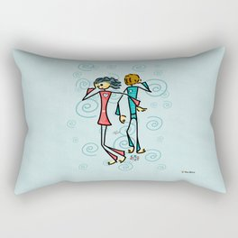 Broken Lovers Rectangular Pillow
