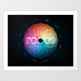 Focus Manifesto Art Print