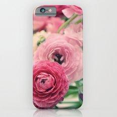 Ranunculus in Pink Slim Case iPhone 6s
