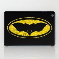 gotham iPad Cases featuring Gotham Gremlin by JVZ Designs