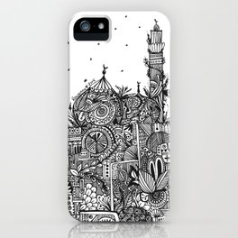 Botanical Mosque (Ramadan Theme) iPhone Case