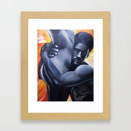 Togetherness Framed Art Print