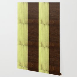 Yellow Paint on Wood Wallpaper