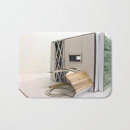Building Square Bath Mat