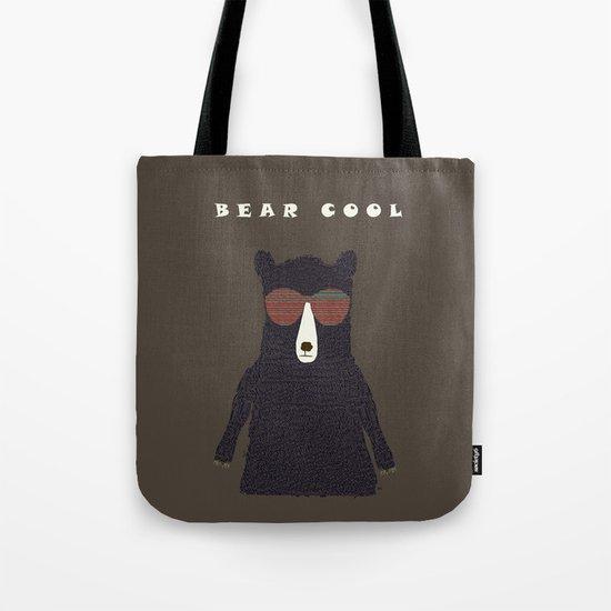 bear cool Tote Bag