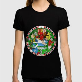 Alice Through the Stained Glass T-shirt