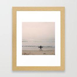 Portugal Beach Framed Art Print