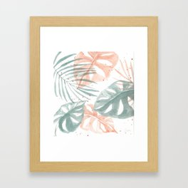 Palm Party II Framed Art Print