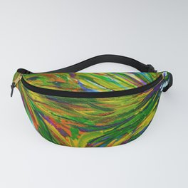 Abstract Autumn Ivy Fanny Pack