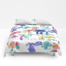 Robot Alien Comforters