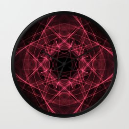 A study in pink 16 Wall Clock