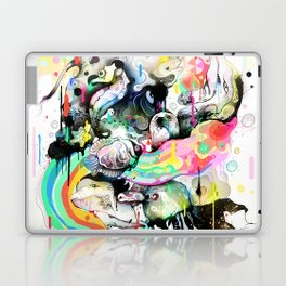 Ink Fight Colors Laptop & iPad Skin