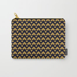 Traditional Japanese pattern KAMINARI Carry-All Pouch