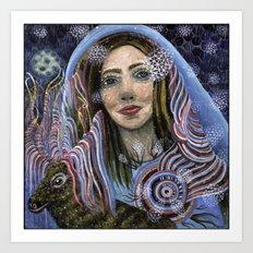 Rana Niejta Art Print