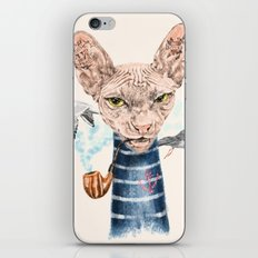 Sphynx Cat II iPhone & iPod Skin