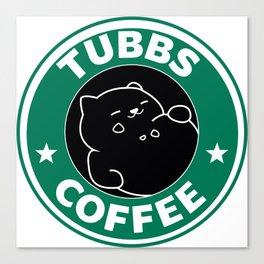 Tubbs Coffee Canvas Print