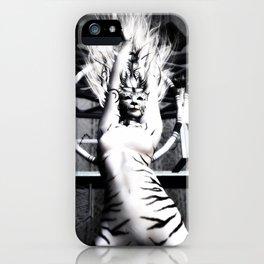 Circus Tiger iPhone Case