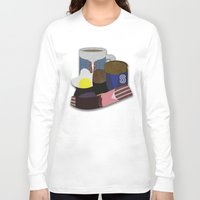 breakfast club Long Sleeve T-shirts featuring Breakfast Club by Matt Humphrey