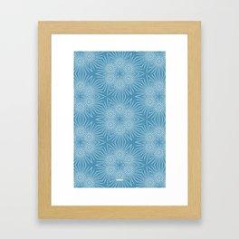 EisSterne Framed Art Print