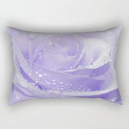 Rose with Drops 085 Rectangular Pillow