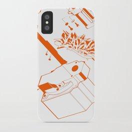 Orange Tech iPhone Case