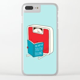 The art of Truth Telling Clear iPhone Case