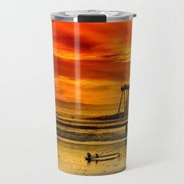 Califronia Sunset Travel Mug