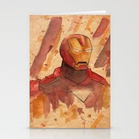 metal Stationery Cards featuring Metal by Sarah J