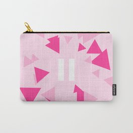 Opposite III Pause Pink Carry-All Pouch
