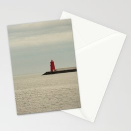 Red Lighthouse Stationery Cards