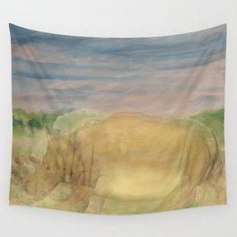 The Last Rhino Wall Tapestry