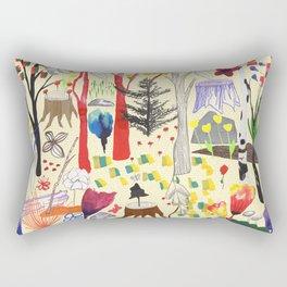 Magic Wood Rectangular Pillow