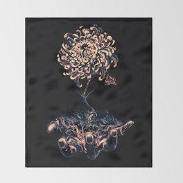 Symbiosis Throw Blanket
