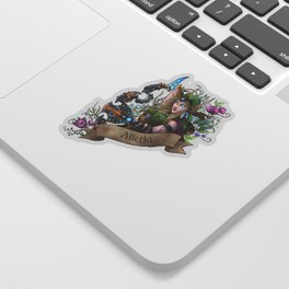 Huntress Sticker