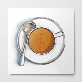 Chocolate Soup Metal Print
