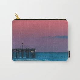 Sunset by the Avalon Pier Carry-All Pouch