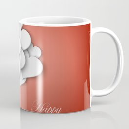 Balloons hearts from paper Valentine's Day Coffee Mug