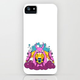 Overbite : Sour Bunny 3 iPhone Case