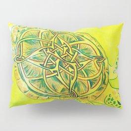 Celtic Knotwork Turtle Pillow Sham