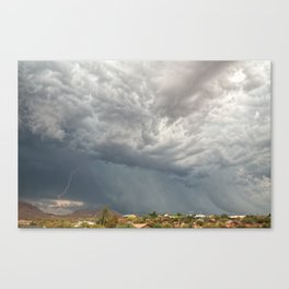 A Monsoon Sky Full of Secrets II Canvas Print