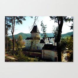 Castle Through the Trees Canvas Print