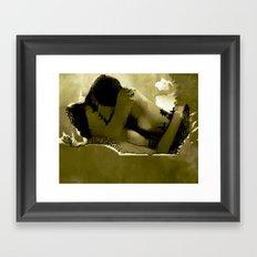 IN LOVE... BY Cd KIRVEN Framed Art Print
